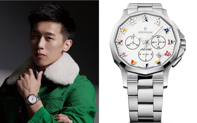 「鞍馬王子」李智凱日前除了登上時尚雜誌PRESTIGE的9月號封面人物,並戴上C...