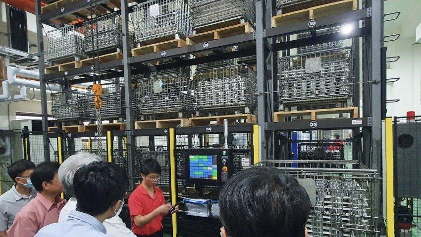盈錫精密大里廠智慧製造工廠。PMC/提供