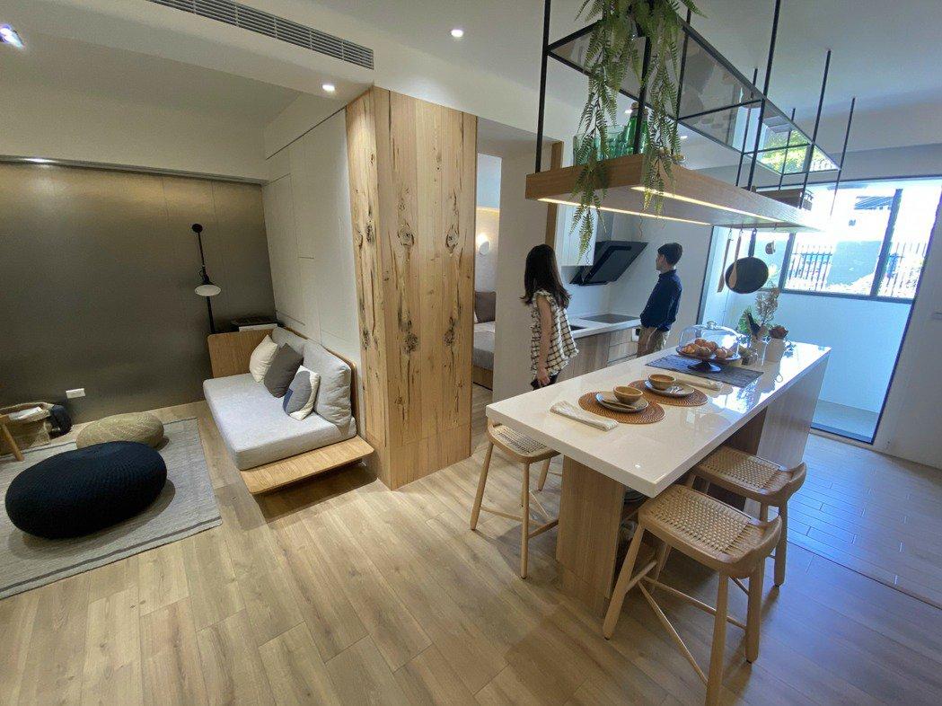 購買預售屋善用客變優勢,可打造最符合自身需求的住宅空間。記者宋健生/攝影