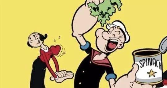 大力水手卜派在卡通中,以吃菠菜增強力量的形象深植觀眾心中,但在科學研究上吃菠菜跟...