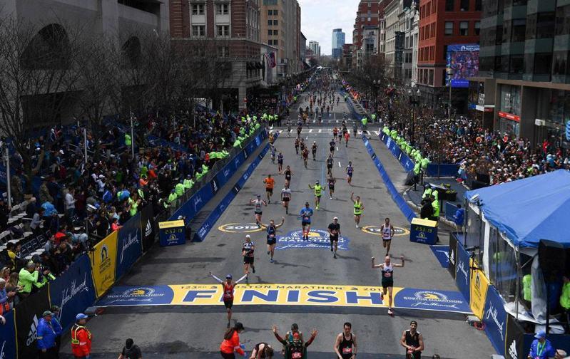 波士頓馬拉松 路透社