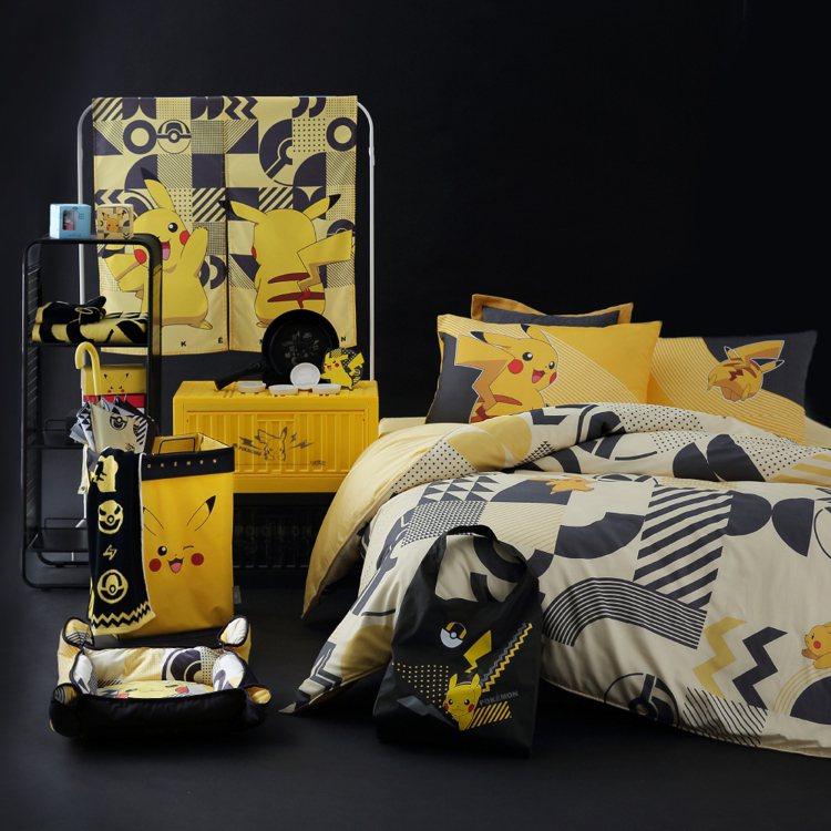 HOLA與寶可夢聯名,推出一系列商品。圖/HOLA提供