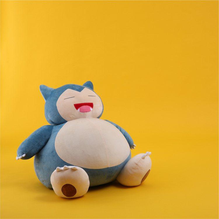 HOLA寶可夢造型懶骨頭-卡比獸/4,990元圖/HOLA提供