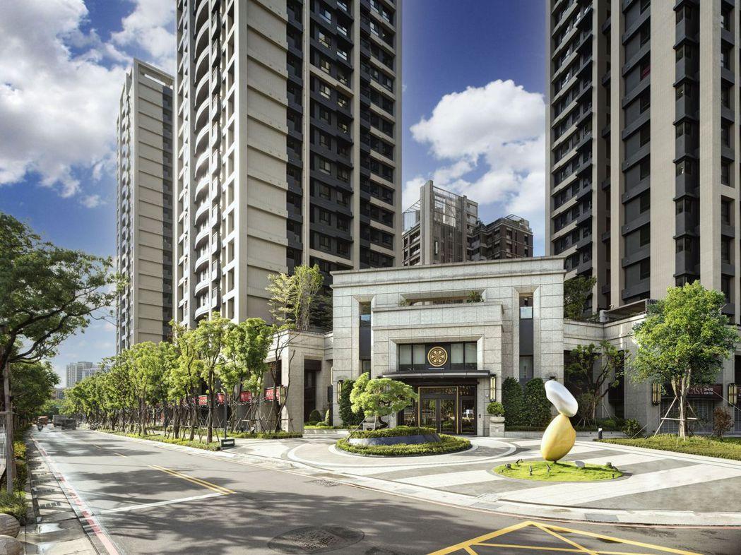 遠雄CASA鄰近中原捷運站,兩房即擁有豪宅尺度規劃,cp值高。(圖/遠雄提供)