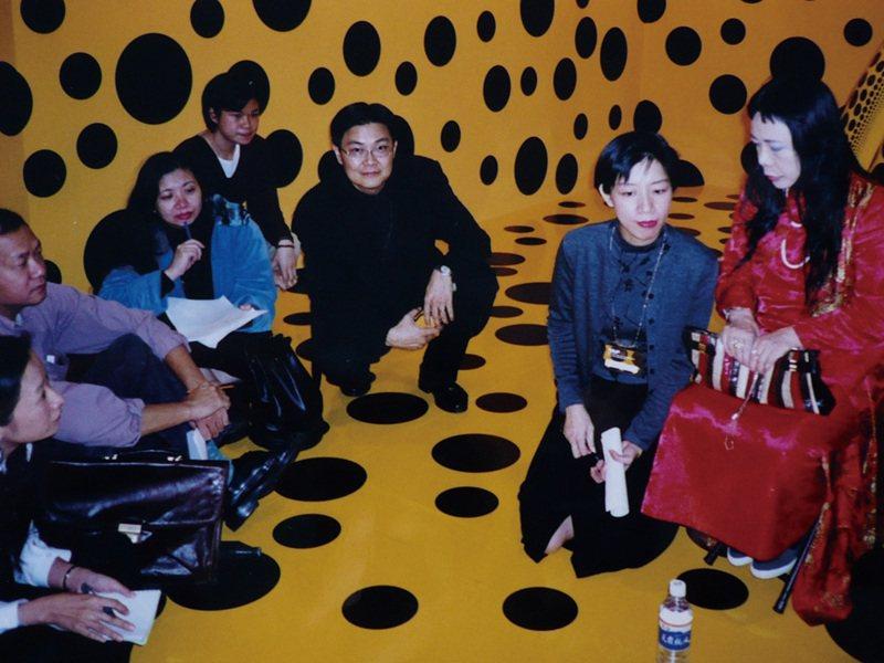 1998年台北國際藝術博覽會  草間彌生特展記者會