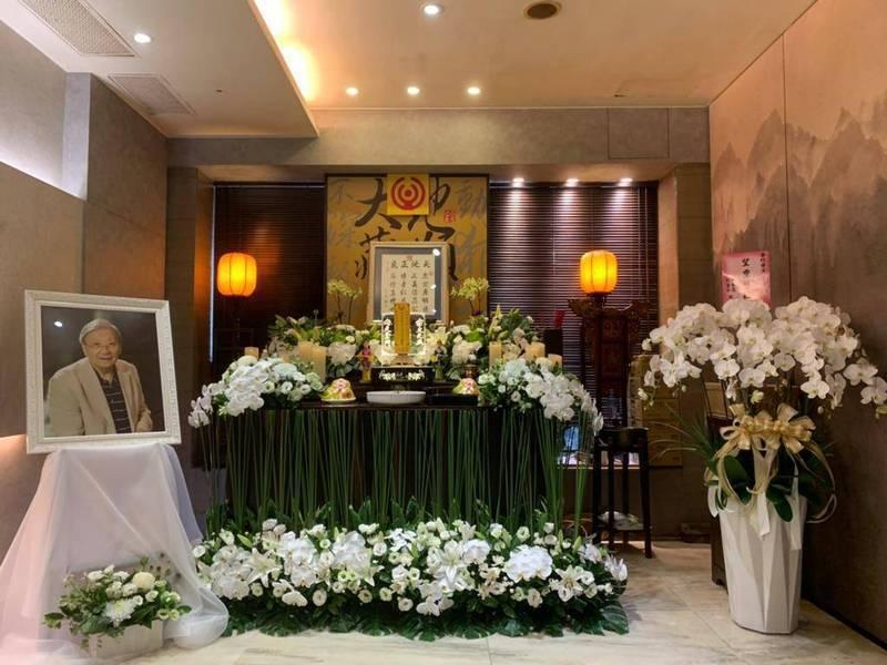 導演李行追思儀禮在台北市立第一殯儀館景行廳舉行。圖/兩岸電影交流委員會提供