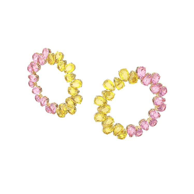 施華洛世奇Collection II系列Millenia穿孔耳環,10,900元...