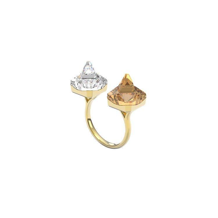 施華洛世奇Collection II系列Chroma戒指,3,790元。圖/施華...