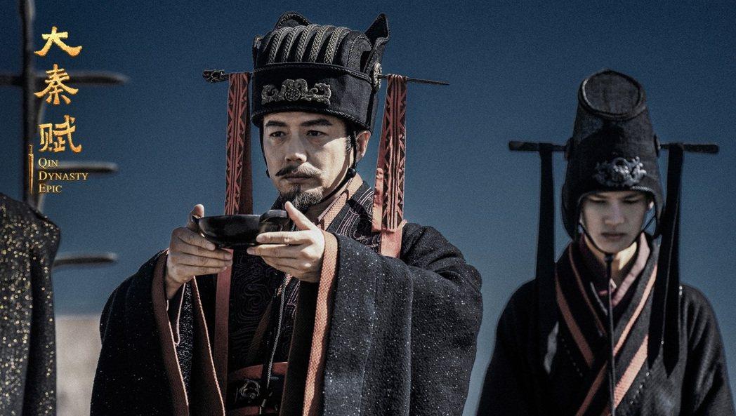 段奕宏之前拒演呂不韋,表示對歷史角色很不熟。圖/緯來育樂台提供