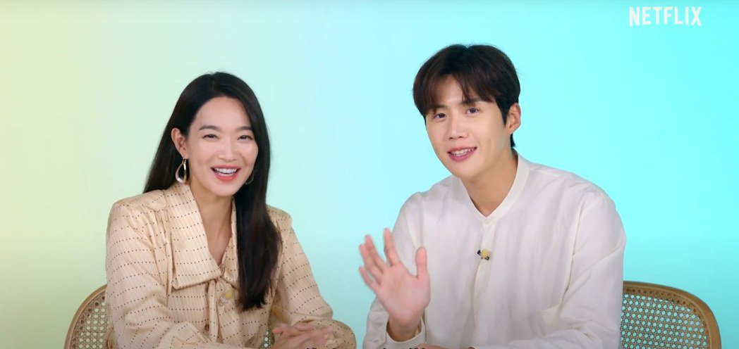 申敏兒、金宣虎主演「海岸村恰恰恰」是近期的熱門韓劇。圖/Netflix提供