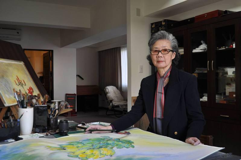 藝術家梁丹丰六日辭世,文化部昨指出,將呈請總統明令褒揚。圖/銘傳大學提供
