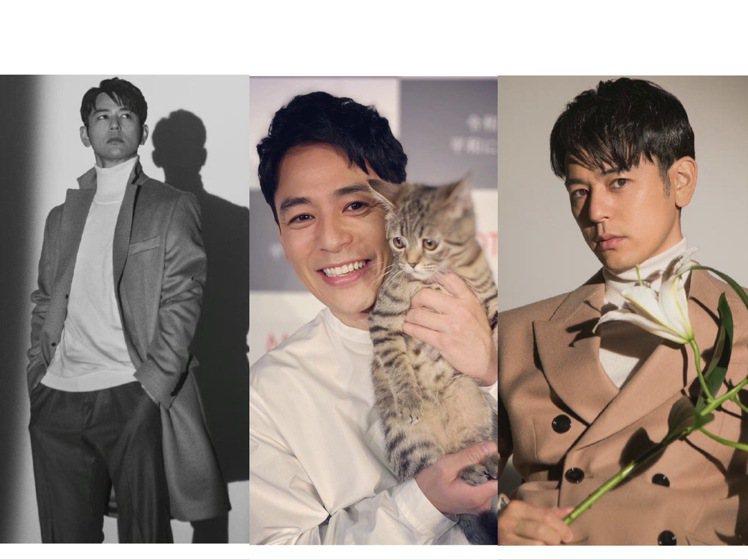 40歲的妻夫木聰兼具少年感和大叔帥,登上中國版《ELLE MEN》。圖/取自微博...