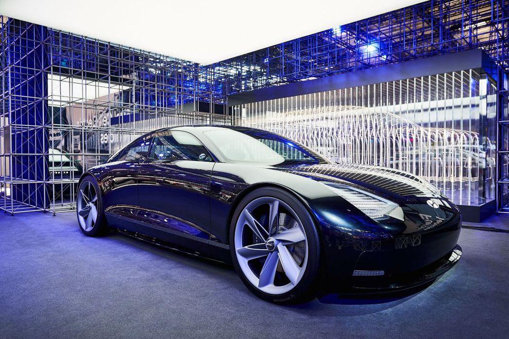 Hyundai Prophecy Concept。 摘自Hyundai