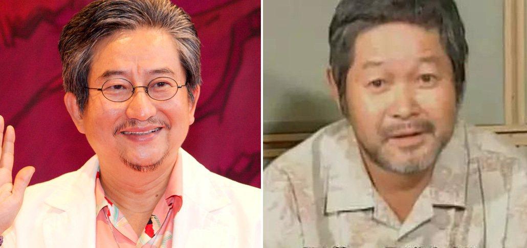蓋特機器人的兩位作者:永井豪(左)和石川賢(右)。石川賢已於 2006 年過世,...