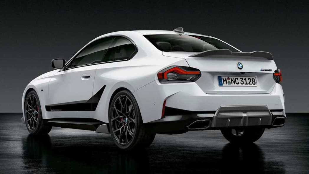 BMW針對2 Series Coupe推出M Performance套件,進一步...