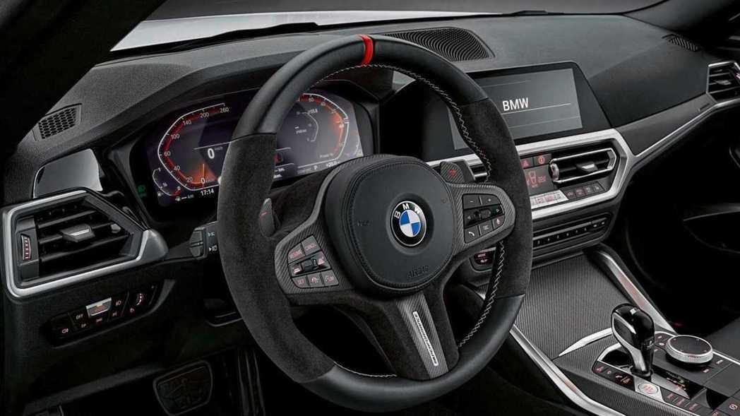內裝也充滿濃濃戰鬥感。 圖/BMW提供