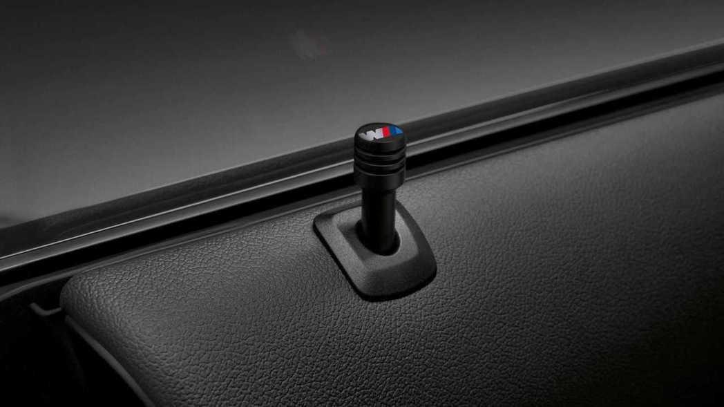 車門鎖也有特殊式樣。 圖/BMW提供