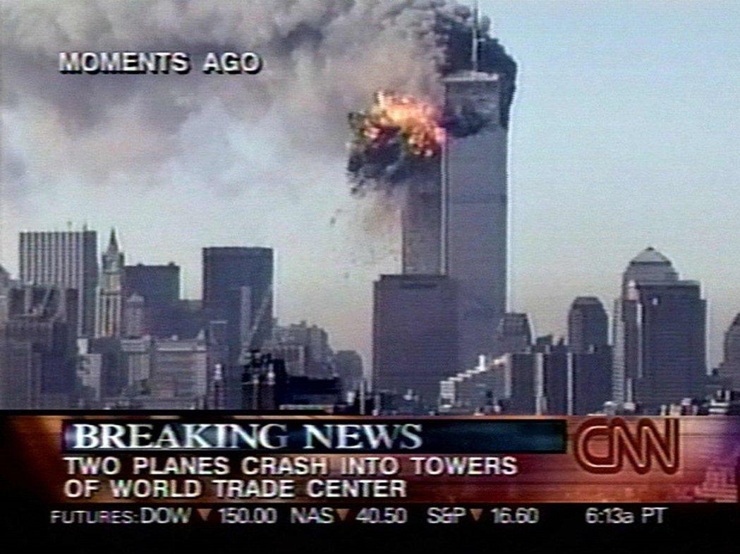 當日的CNN電視台。 圖/法新社