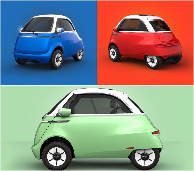 中階款Dolce車型多了鍍鉻妝點,車色為巴黎薄荷綠、米蘭紅和蘇黎世藍。 摘自Mi...
