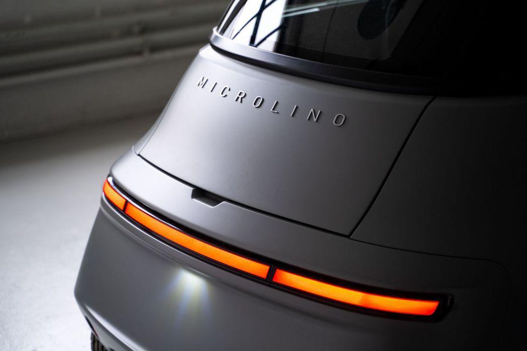 Microlino 2.0尾燈也是採用LED燈條。 摘自Micro