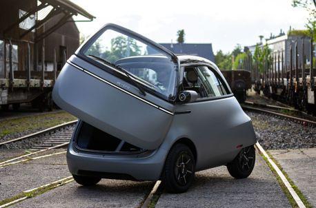 致敬BMW Isetta!超萌的Microlino 2.0電動城市小車正式量產發表