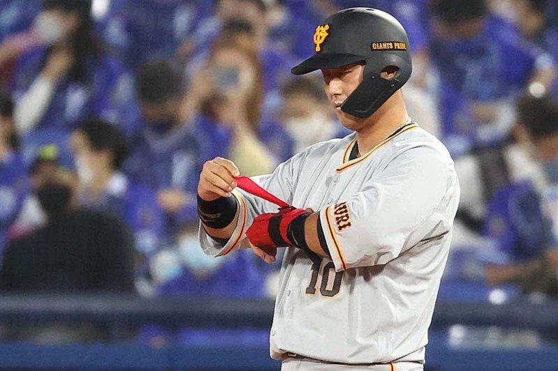 中田翔近況火燙,近5戰敲4轟,打擊率突破6成。 擷圖自巨人隊方推特