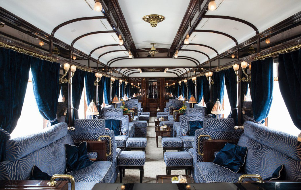 Venice Simplon-Orient-Express保留百年來的奢華而優雅...