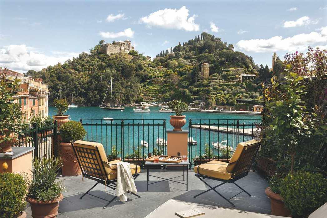 Splendido Mare酒店坐擁電影場景般的蔚藍海岸風光。  圖/Belm...