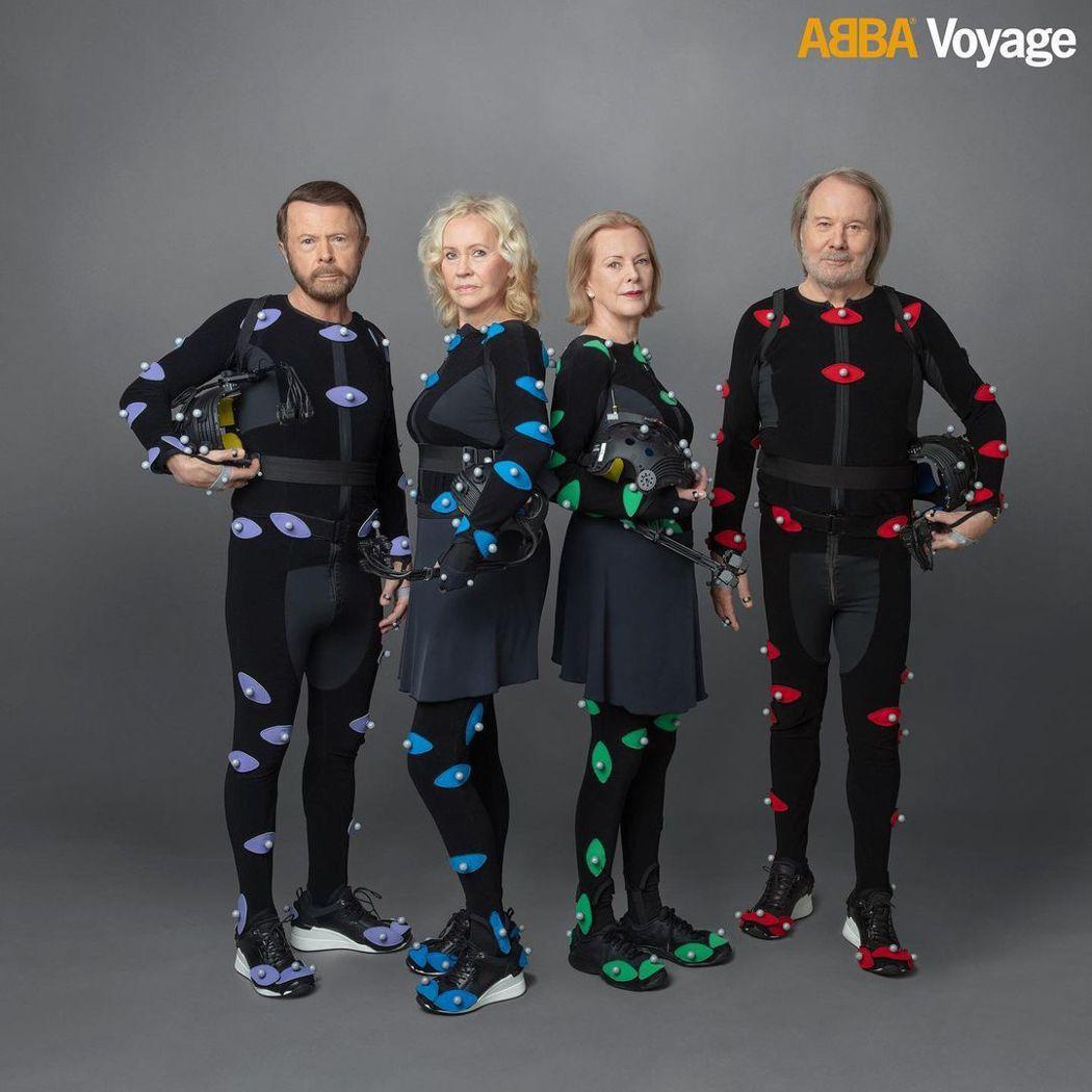 傳奇樂團ABBA,相隔近40年再合體。圖/摘自ABBA Voyage IG