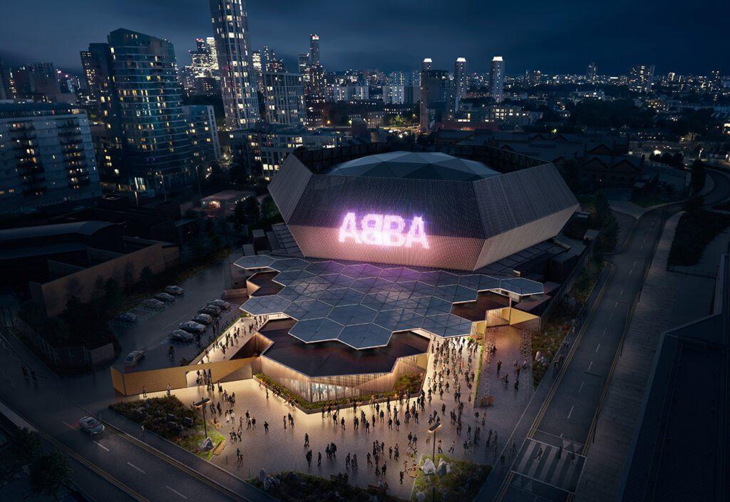 ABBA Voyage演唱會場地。圖/Stufish提供
