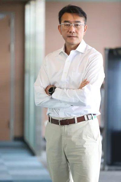 長庚運動醫學團隊副主席林瀛洲談運動傷害。 圖/葉信菉 攝影