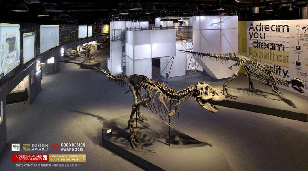 梁浩軒辦恐龍展,有來自個人童年的經驗。圖/啟藝提供