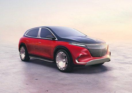 預覽電動化Maybach 全新Mercedes-Maybach EQS Concept頂級豪華純電休旅慕尼黑車展亮相!