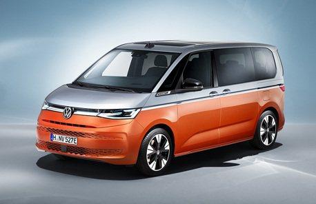 2021 IAA慕尼黑車展: VW T7 Multivan實車現身