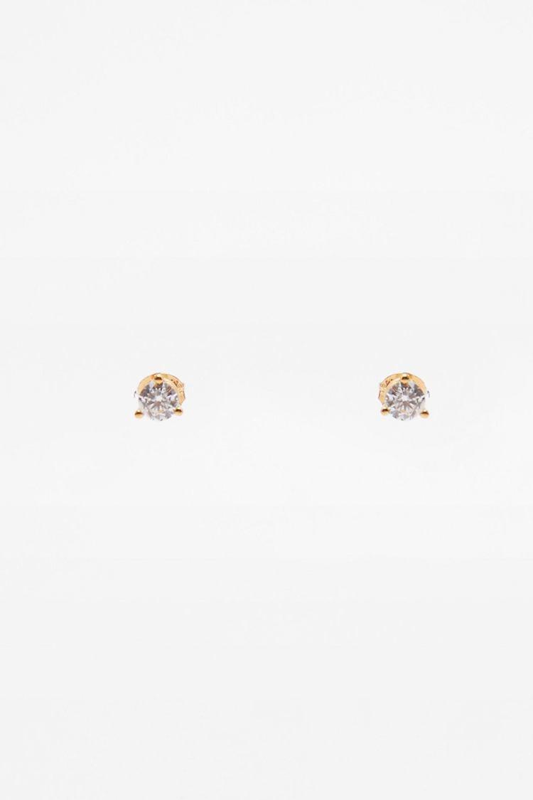 ZARA純銀鍍金耳環1,190元。圖/ZARA提供
