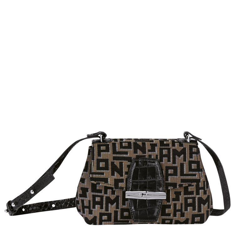 Roseau LGP系列斜揹袋XS,15,900元。圖/Longchamp提供