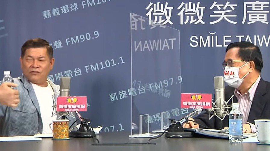 藝人澎恰恰本月5日到高雄擔任前總統陳水扁廣播節目來賓,當時他模仿阿吉仔、已故前總