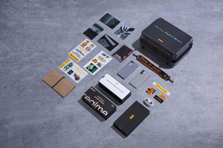 realme GT大師版探索世界超限量旅行箱組,全台僅限量3組,售價12,990...