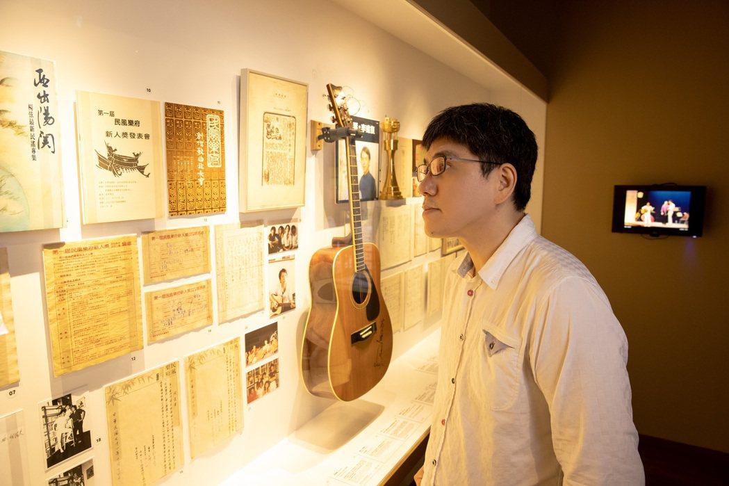 馬世芳是建立策展論述的靈魂人物。圖/臺北市政府文化局提供