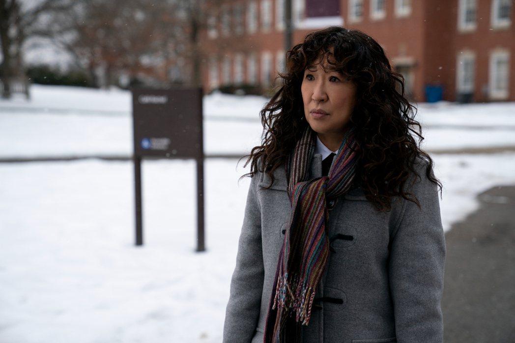 吳珊卓是「叫她系主任」的監製、主演,為該劇提供不少想法。圖/Netflix提供