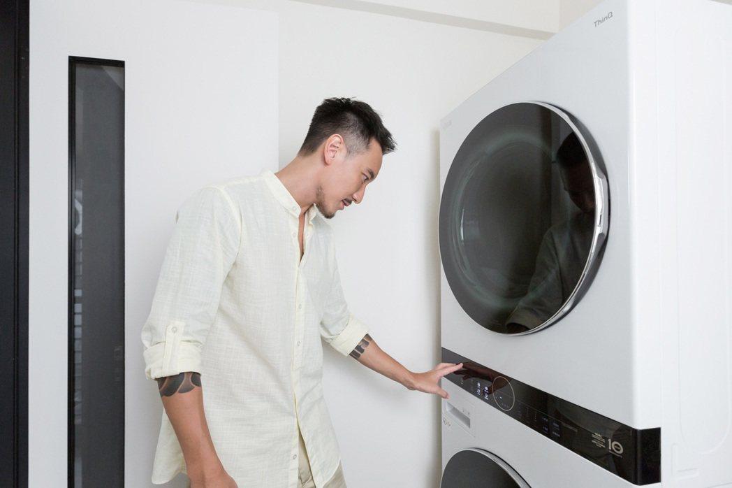 王陽明相當在意家人清潔問題。圖/LG提供