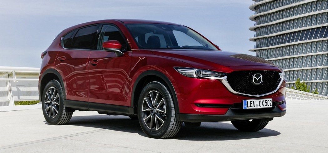 現行Mazda CX-5。 摘自Carscoop.com