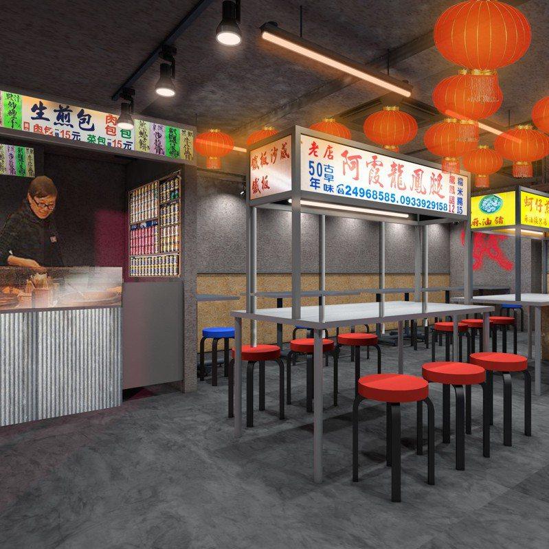 日本業者將在京都開設「熱烈觀光夜市」,提供台灣與亞洲各地的美食。圖擷取自熱烈観光夜市