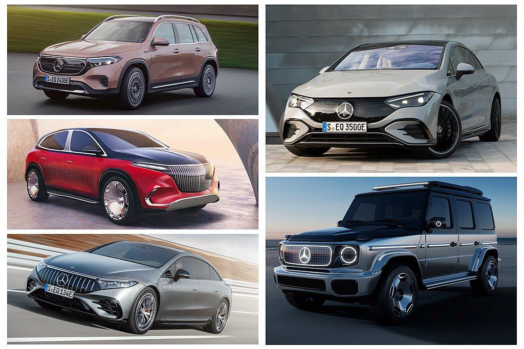 賓士汽車於2021 IAA 向全球宣布將在2025年推出三個全新的純電車型架構(...