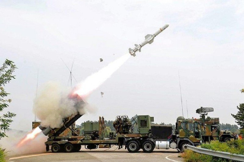 魚叉岸防飛彈系統。 圖/Defense Media Agency