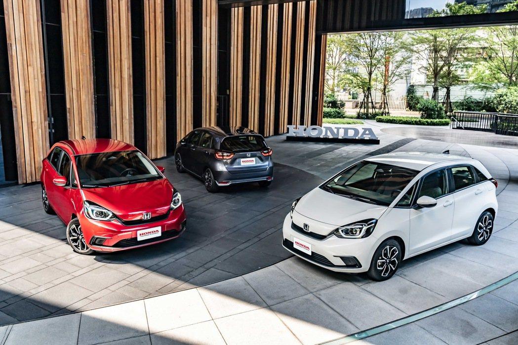 Honda全新Fit汽油款正式發表,建議售價74.9萬。 圖/台灣本田提供