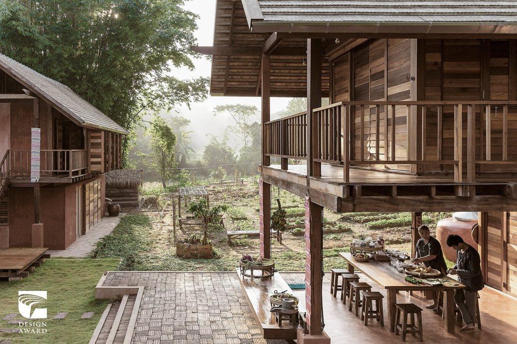 空間設計類獲獎作品,泰國建築景觀設計事務所 Creative Crews 的農場...