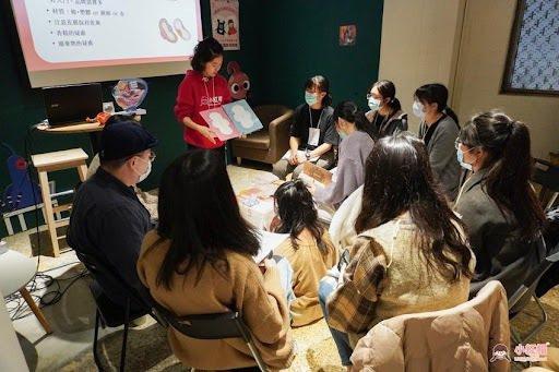 小紅帽青年講師培訓課程。 圖片來源/小紅帽提供
