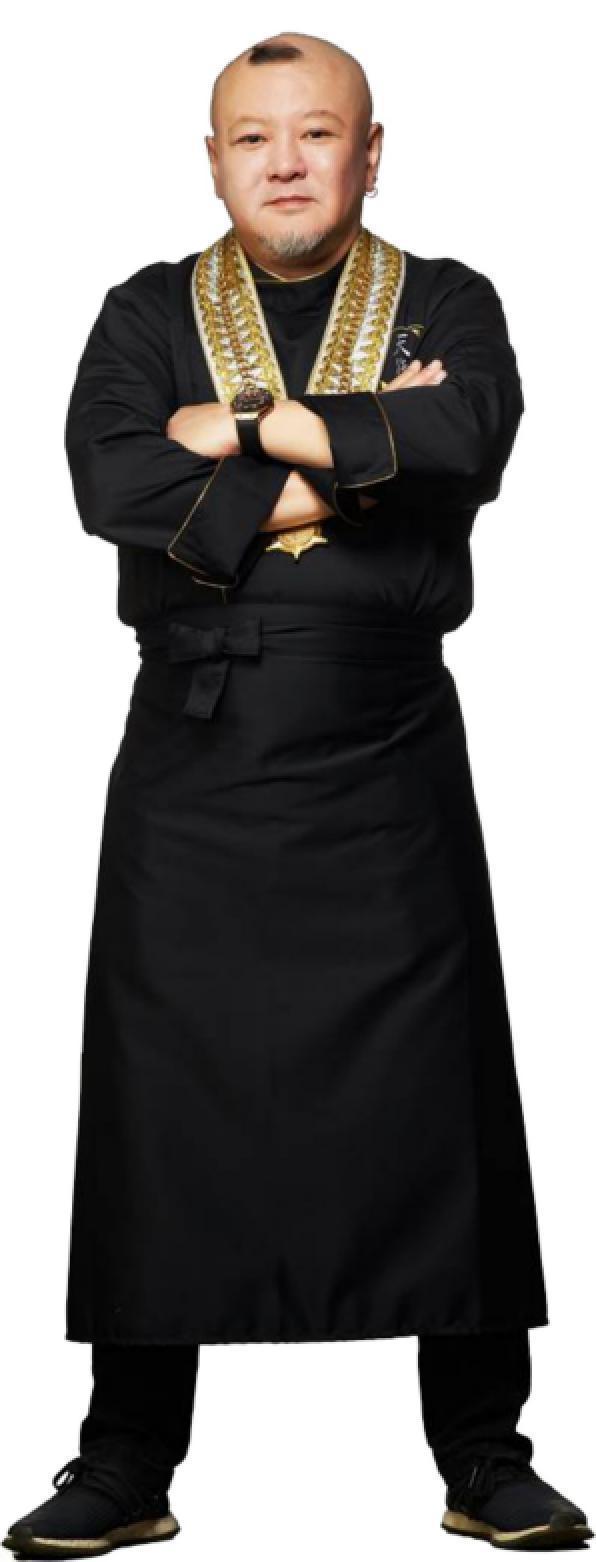 世界金廚金牌、法國藍帶大中華區榮譽主席何京寶。業者/提供