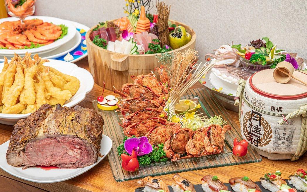 宜客樂海港百匯自助晚餐。